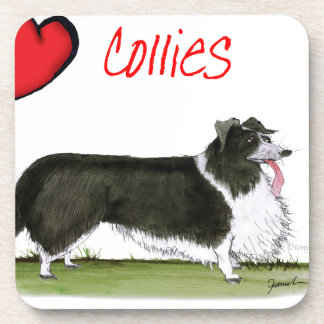 we luv collies from tony fernandes coaster