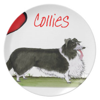 we luv collies from tony fernandes plate