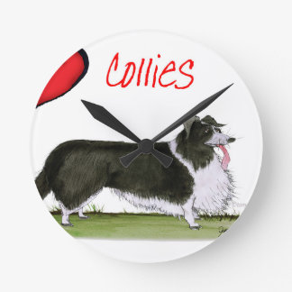 we luv collies from tony fernandes round clock
