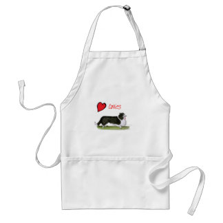 we luv collies from tony fernandes standard apron