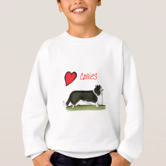 we luv collies from tony fernandes sweatshirt