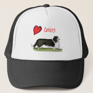 we luv collies from tony fernandes trucker hat