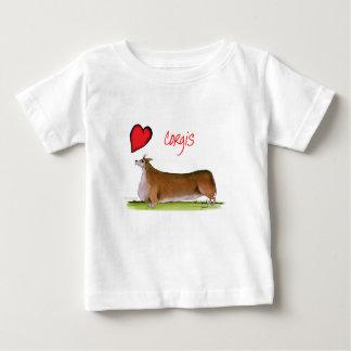 we luv corgis from Tony Fernandes Baby T-Shirt