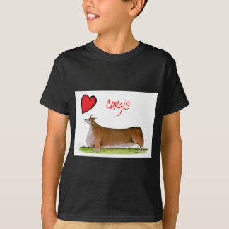 we luv corgis from Tony Fernandes T-Shirt
