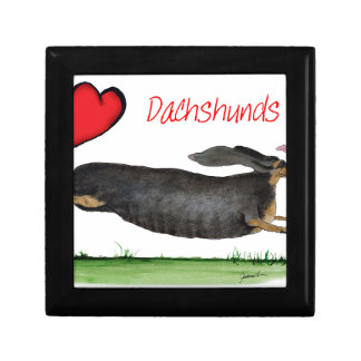 we luv dachshunds from Tony Fernandes Gift Box