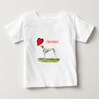 we luv dalmatians from Tony Fernandes Baby T-Shirt