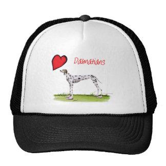 we luv dalmatians from Tony Fernandes Cap
