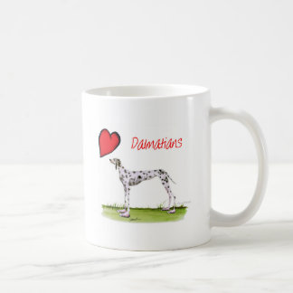 we luv dalmatians from Tony Fernandes Coffee Mug