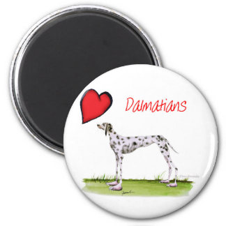 we luv dalmatians from Tony Fernandes Magnet