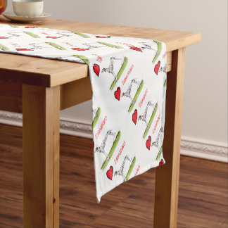 we luv dalmatians from Tony Fernandes Short Table Runner