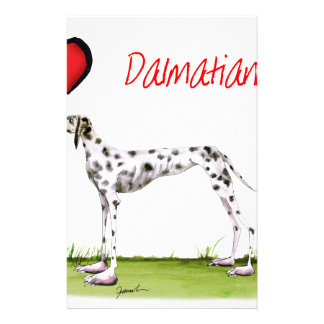 we luv dalmatians from Tony Fernandes Stationery
