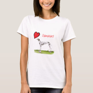 we luv dalmatians from Tony Fernandes T-Shirt