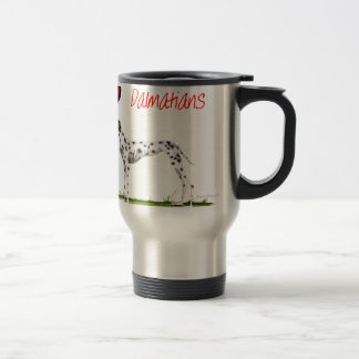 we luv dalmatians from Tony Fernandes Travel Mug
