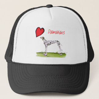 we luv dalmatians from Tony Fernandes Trucker Hat