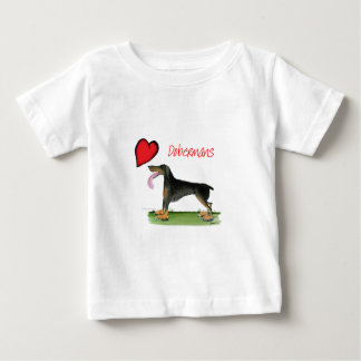 we luv dobermans from Tony Fernandes Baby T-Shirt