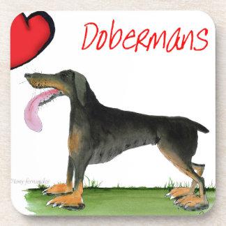 we luv dobermans from Tony Fernandes Coaster