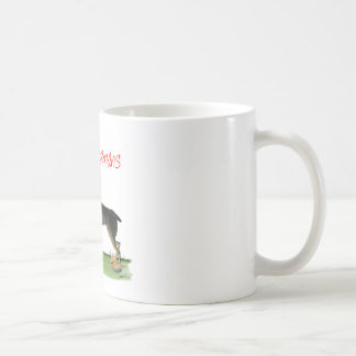 we luv dobermans from Tony Fernandes Coffee Mug