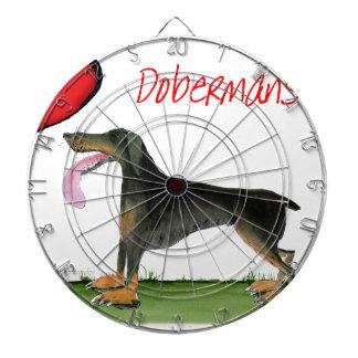 we luv dobermans from Tony Fernandes Dartboard