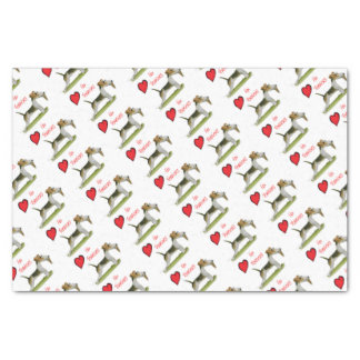 we luv fox terriers from Tony Fernandes Tissue Paper