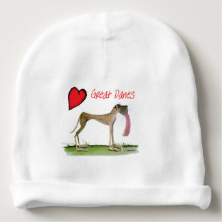 we luv great danes from Tony Fernandes Baby Beanie