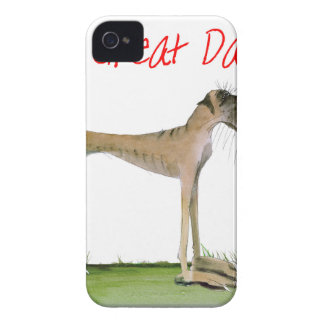 we luv great danes from Tony Fernandes Case-Mate iPhone 4 Case