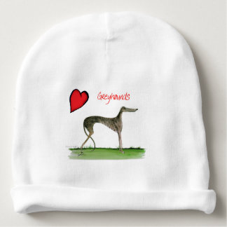 we luv greyhounds from Tony Fernandes Baby Beanie