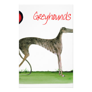 we luv greyhounds from Tony Fernandes Stationery