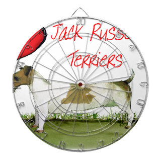 we luv jack russell terriers from Tony Fernandes Dartboard