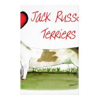 we luv jack russell terriers from Tony Fernandes Stationery
