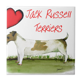 we luv jack russell terriers from Tony Fernandes Tile