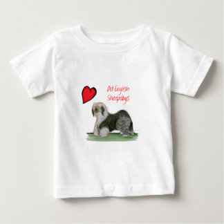 we luv old english sheepdogs, Tony Fernandes Baby T-Shirt