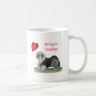 we luv old english sheepdogs, Tony Fernandes Coffee Mug