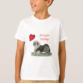 we luv old english sheepdogs, Tony Fernandes T-Shirt