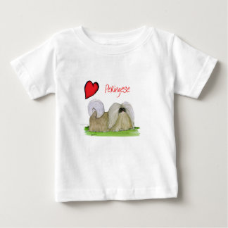 we luv pekingese from Tony Fernandes Baby T-Shirt