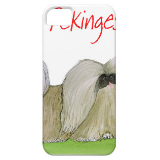 we luv pekingese from Tony Fernandes Barely There iPhone 5 Case