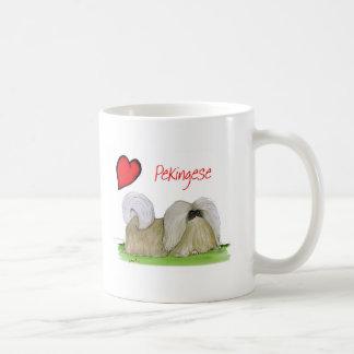 we luv pekingese from Tony Fernandes Coffee Mug