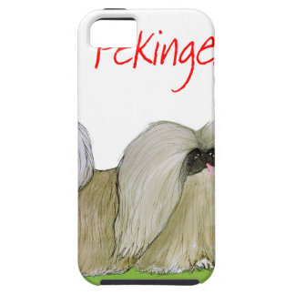 we luv pekingese from Tony Fernandes iPhone 5 Cover