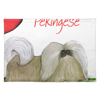 we luv pekingese from Tony Fernandes Placemat
