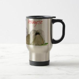 we luv pekingese from Tony Fernandes Travel Mug