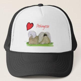 we luv pekingese from Tony Fernandes Trucker Hat