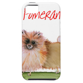 we luv pomeranians from Tony Fernandes iPhone 5 Case