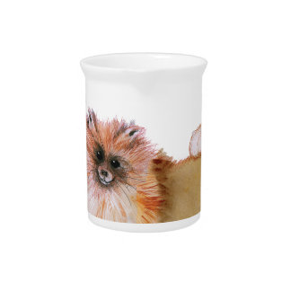 we luv pomeranians from Tony Fernandes Pitcher