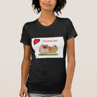 we luv pomeranians from Tony Fernandes T-Shirt
