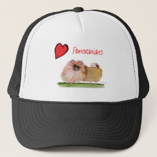 we luv pomeranians from Tony Fernandes Trucker Hat
