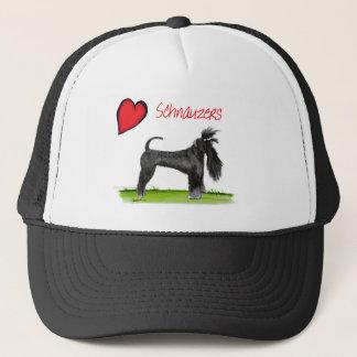 we luv schnauzers from tony fernandes trucker hat