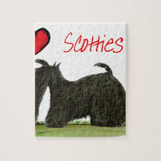 we luv scotties from Tony Fernandes Jigsaw Puzzle