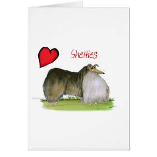we luv shetland sheepdogs from Tony Fernandes Card
