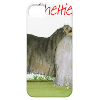 we luv shetland sheepdogs from Tony Fernandes iPhone 5 Case