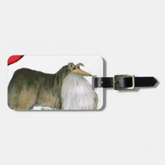we luv shetland sheepdogs from Tony Fernandes Luggage Tag