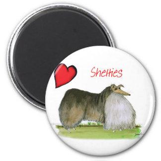 we luv shetland sheepdogs from Tony Fernandes Magnet